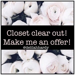 CLOSET CLEAR OUT!